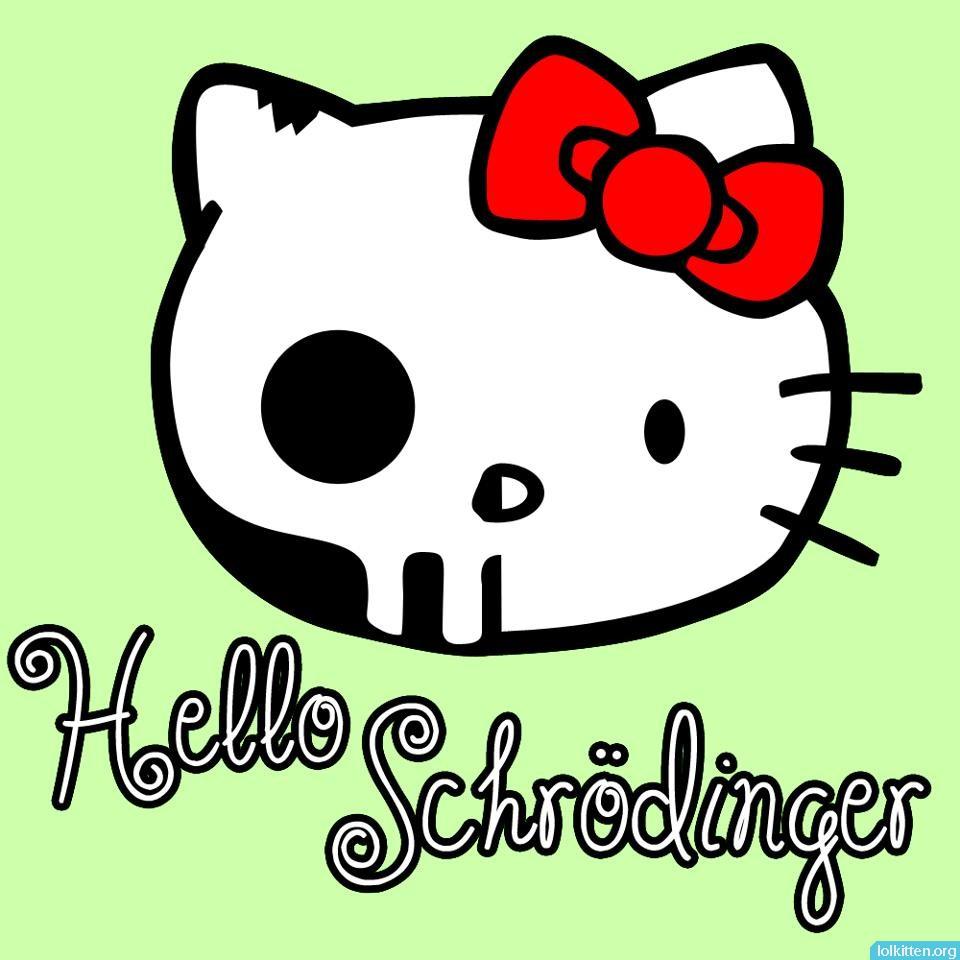 Hello Schrödinger