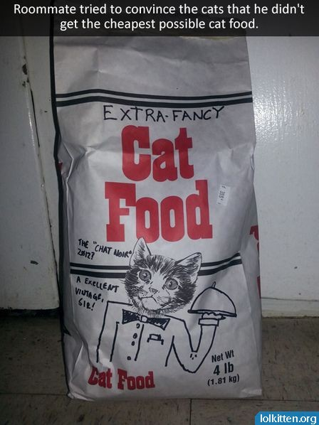 EXTRA-FANCY Cat Food