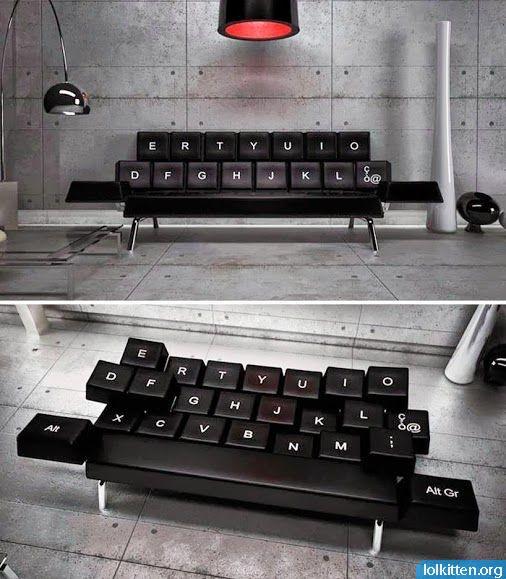 Keyboard Sofa