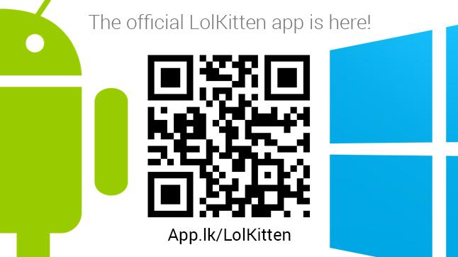 Official lolkitten.org app